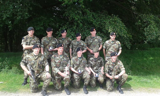 Irish Defence Forces competing team in 'Arduous Serpent'